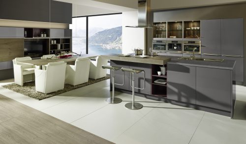 Keuken Sachsen: pure rechtlijnigheid