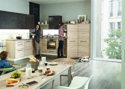Keuken in contrasten Sachsen