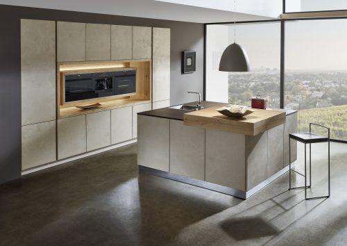 Keuken met ledverlichting Sachsen