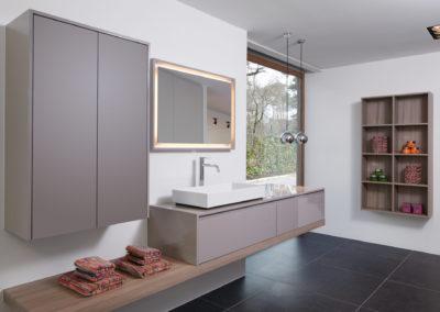 Eigentijdse badkamer
