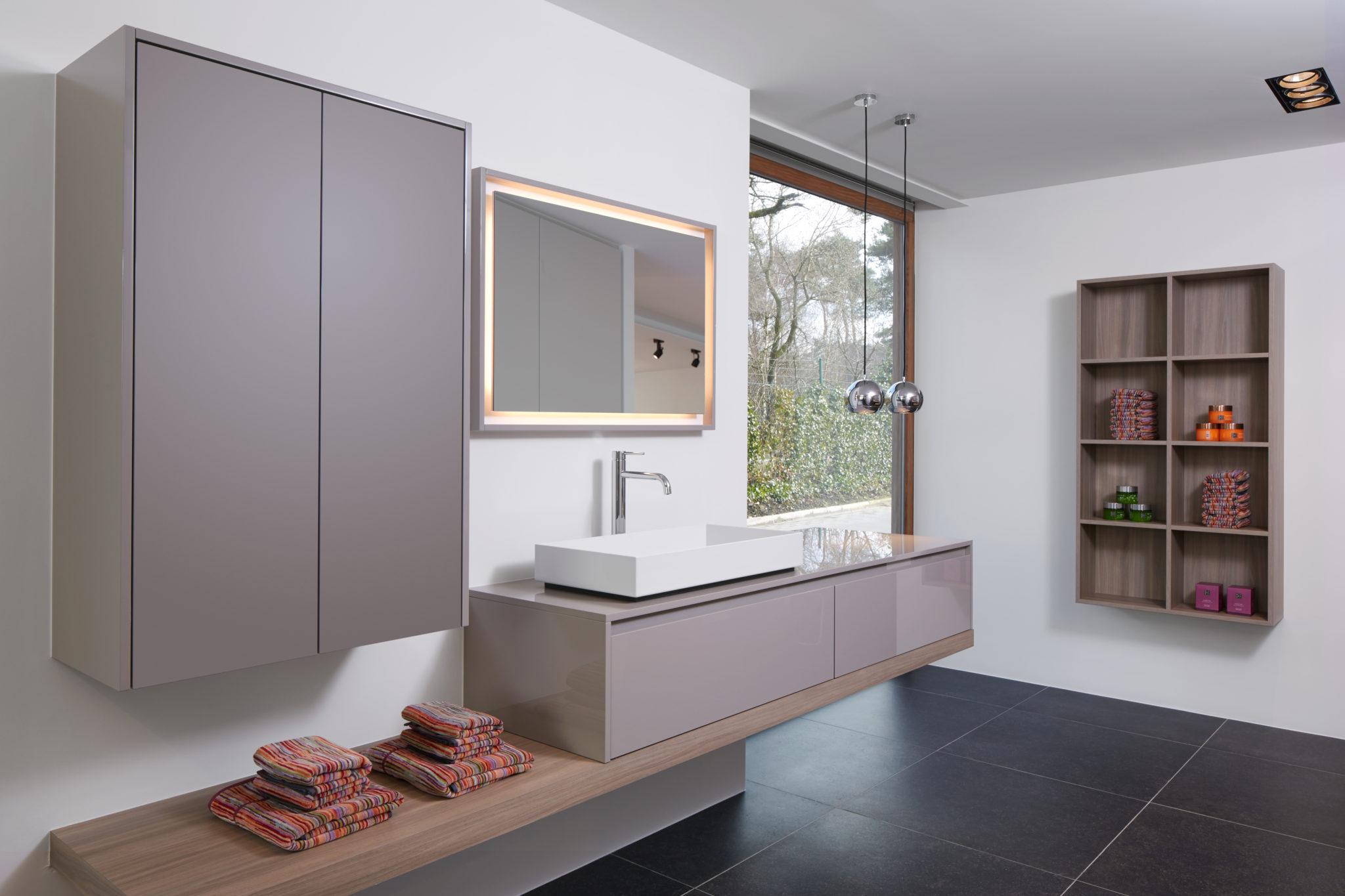 Eigentijdse badkamer masure