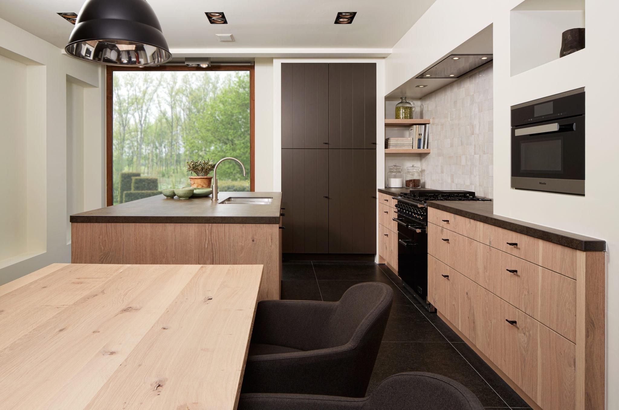 Kleine Landelijk Keuken : Landelijk en toch strakke keuken masure