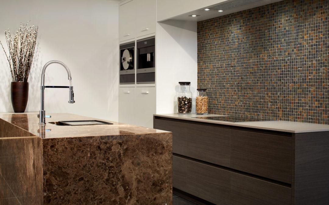 Design keuken in natuurlijke materialen