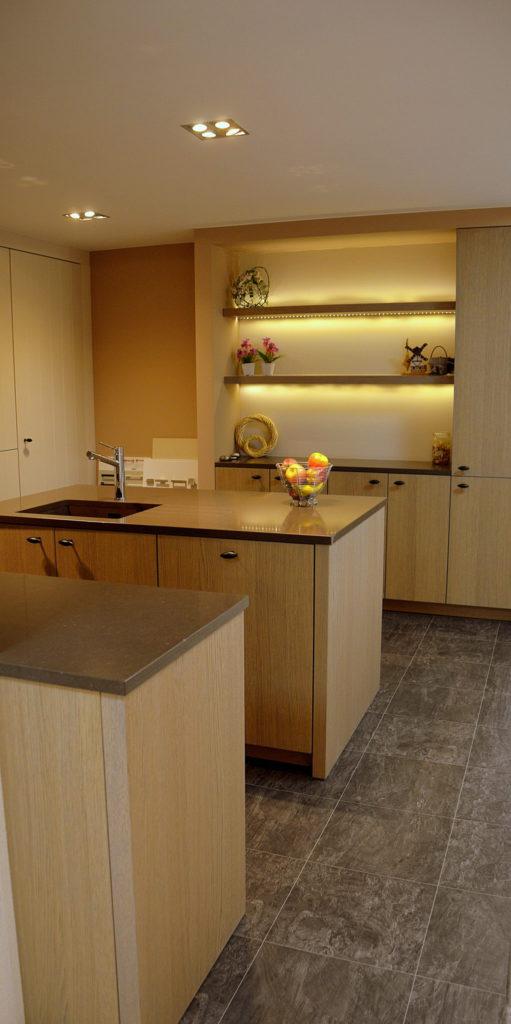foto toonzaalkeuken 3.b landelijke keuken
