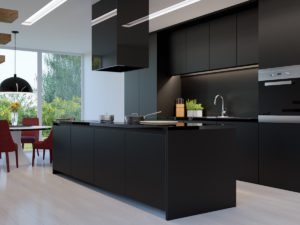 all-black-kitchen-on-all-light-wood-floor-standout-contrast