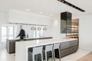 penthouse-nieuw appartement keuken